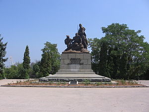 Komsomol - Monument to Courage, Firmness and Faithfulness of Members of the Komsomol in Sevastopol