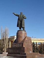 Памятник Ленину на площади Ленина (Волгоград)