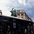 Monumento a Vittorio Emanuele II Piazza Corvetto Genova foto 1.jpg