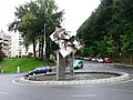 Monumento do Bicentenario de Silverio Rivas (rúa Camelias-rúa Venezuela).jpg