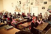 Morocco-school-Merzouga