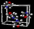 Morpholine-unit-cell-3D-balls.png