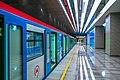 MosMetro Nizhegorodskaya (2020-01) - platform and train 81-765 (2).jpg