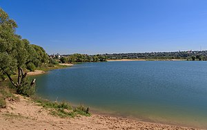 Stupinsky District - Stupino Lake near Belopesotsky Convent, Stupinsky District