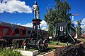 Moscow, Oktyabrskaya Railroad memorial (30751660054).jpg