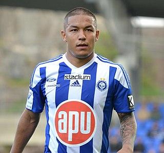 Moshtagh Yaghoubi Finnish footballer