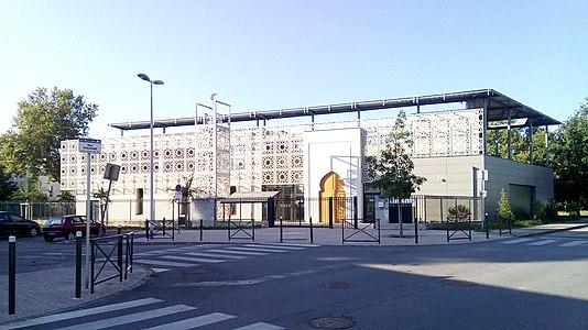 Omar Ibn Al Khattab Mosque In Saint Martin Du0027Hères, Isère.