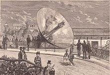 Concentrador Solar de Augustin Mouchot