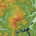 Mount Asakusadake Relief Map, SRTM-1.jpg