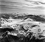 Mount Katmai, mountain glaciers, and aretes, August 26, 1969 (GLACIERS 7038).jpg