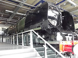 Thinktank, Birmingham Science Museum - Image: Move It Thinktank Birmingham Science Museum City of Birmingham locomotive 46235 (8619609341)