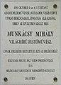 Munkácsy Mihály Plaque Békéscsaba.jpg