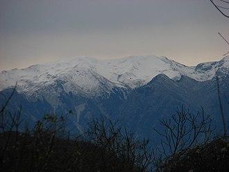 Mourgana - Mourgana Mountain range