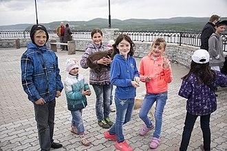 Kola Peninsula - Children in Murmansk, 2015