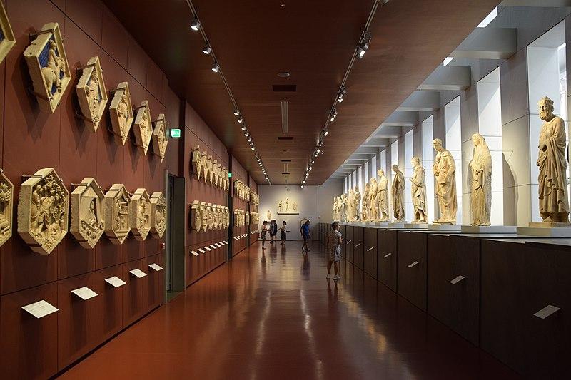 Зал колокольни Музей Дуомо Флоренция