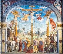 Museo di Santa Giulia Coro delle Monache Crocifissione Ferramola Brescia.jpg