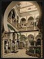Museum- entrance hall, II, Algiers, Algeria-LCCN2001697819.jpg