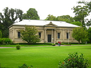 Santos Limited - Santos sponsors the Museum of Economic Botany at the Botanic Gardens of Adelaide.