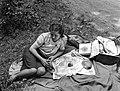 Női portré, 1943. Fortepan 72248.jpg