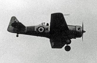 RAF Syerston - Image: N.American Harvard IIB Noorduyn KF466 U M Syerston 22.07.54 edited 2