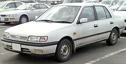 1991–1994 Nissan Pulsar (N14) sedan (Japan)