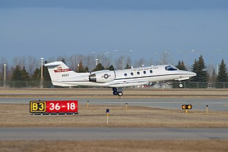 Learjet 35 - A  C-21A Learjet attached to the North Dakota Air National Guard's (NDANG) 119th Fighter Wing.
