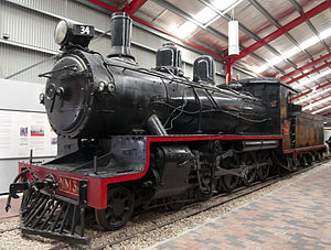 Commonwealth Railways NM class - Preserved NM34 at the National Railway Museum in October 2010