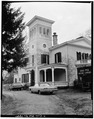 NORTHWEST FRONT, FROM WEST - Mills-Stebbins House, 3 Crescent Hill, Springfield, Hampden County, MA HABS MASS,7-SPRIF,5-2.tif