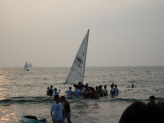 National Sun Yat-sen University - University sailboat