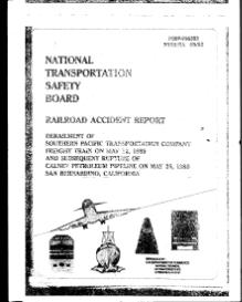 NTSB - Railroad Accident Report - Derailment on May 25, 1989.djvu