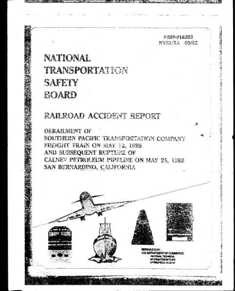 File:NTSB - Railroad Accident Report - Derailment on May 25, 1989.djvu