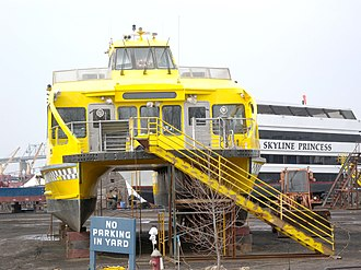 New York Water Taxi - Image: NYWT Tottenville yd jeh