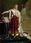 Napoleon I (by Anne Louis Girodet de Roucy-Trioson)