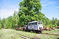 Narrow gauge railway of Solotchinskoe peat enterprise.jpg