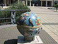 National Archives - The Mosaic Globe on the edge of the park - geograph.org.uk - 1335005.jpg