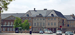 National Museum of Denmark - The Prince's Mansion in Copenhagen. Home of the National Museum of Denmark