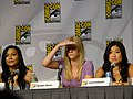 Naya Rivera, Heather Morris & Jenna Ushkowitz (4853052550).jpg