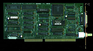 NE1000 - NE2000 16-bit ISA card (rev B, added AUI port for transceiver)