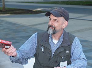 Neal Stephenson - Stephenson at the Starship Century Symposium at UCSD in 2013