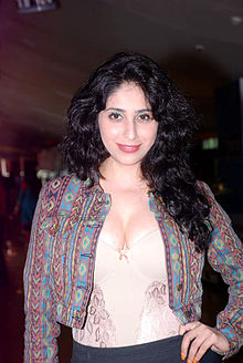 Neha Basin at Audio release of Life Ki Toh Lag Gayi (1).jpg