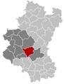 Neufchâteau Luxembourg Belgium Map.png