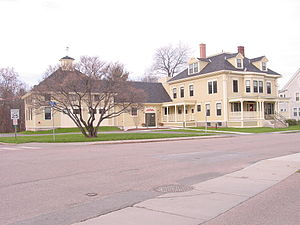 New England Culinary Institute - New England Culinary Institute, Harris Hall