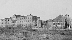 Las Vegas, New Mexico - New Mexico Insane Asylum in Las Vegas, 1904