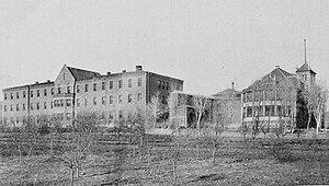 Las Vegas, New Mexico - New Mexico Insane Asylum in Las Vegas, 1904