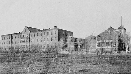 New Mexico Insane Asylum in Las Vegas, 1904 New Mexico Insane Asylum, Las Vegas, New Mexico (1904).jpg