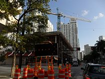 New Miami-Dade College center construction.JPG