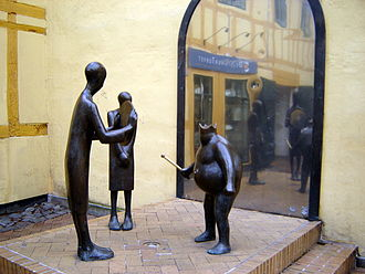 The Emperor's New Clothes - Monument in Odense