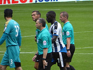 Moussa Sissoko - Sissoko playing for Newcastle United against Arsenal in 2015