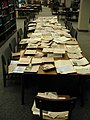 Newspaper clippings table (opposite end) (3820957465).jpg