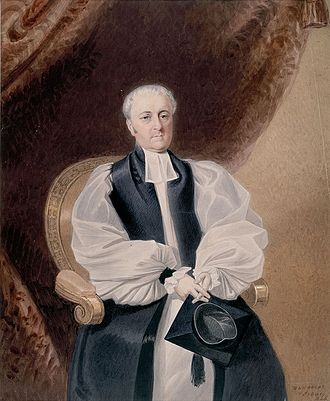 William Broughton (bishop) - Portrait of Broughton by William Nicholas